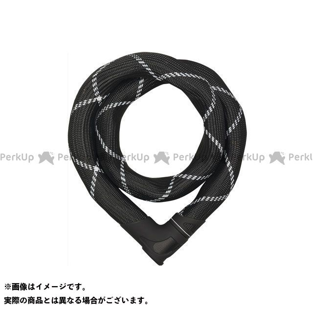 ABUS Steel-O-Chain Iven 8210(ブラック/ホワイト) 85cm アブス