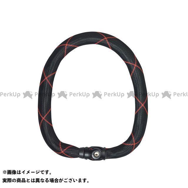 ABUS Steel-O-Chain Ivy 9100(ブラック/レッド) 110cm アブス