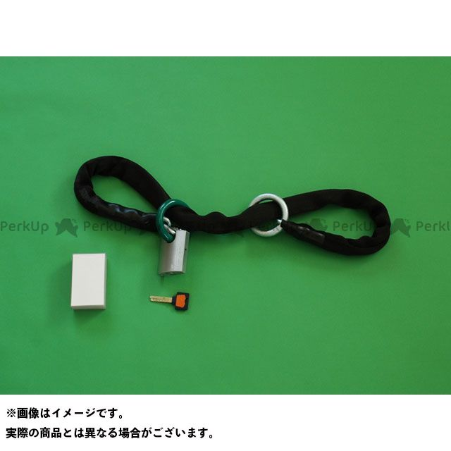 衣川製鎖工業 キヌガワセイサ チェーンロック 【携帯用】 かてーな!! ぽっけ ブラック 1.2m