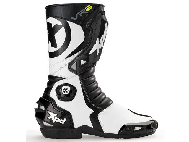 送料無料 XPD エックスピーディー レーシングブーツ XPN020 VR-6 2 レーシングブーツ ブラック/ホワイト 25.5cm/41