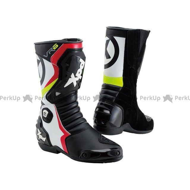 送料無料 XPD エックスピーディー レーシングブーツ XPN020 VR-6 2 レーシングブーツ ブラック/ホワイト/レッド 28.0cm/44