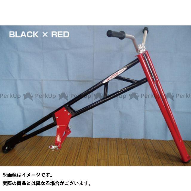 力造 リキゾー おもちゃ・ホビー TRAPPER LUX 標準タイプ ブラック×レッド トライアルステップ(スチール)