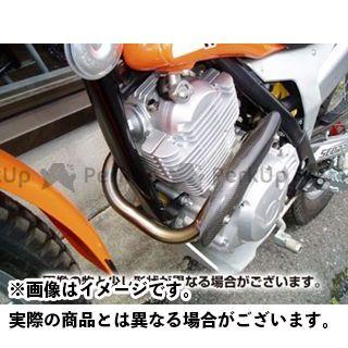 力造 SY TY125 4T TYS125F Rikizoh レーシングエキゾーストパイプ チタニウム製 SCORPA TY125 4T(TYS125F・SY125) 用 カラー:レッド リキゾー