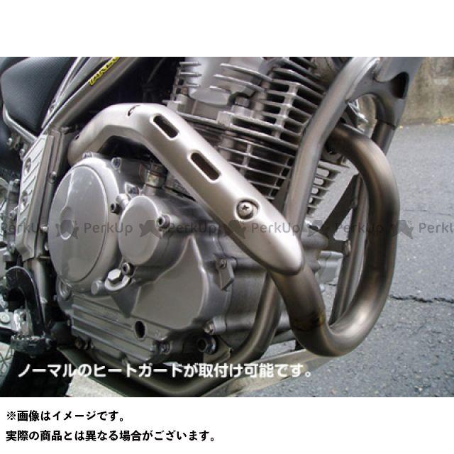 力造 セロー250 トリッカー XG250 XT250X Rikizoh チタンエキゾーストパイプ セロー250・トリッカー・XT250X用  リキゾー