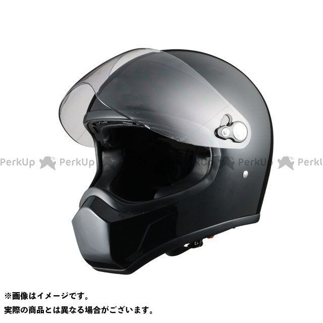 送料無料 Silex シレックス フルフェイスヘルメット ネオレトロヘルメット FUJIN パールブラック L/58-60cm未満