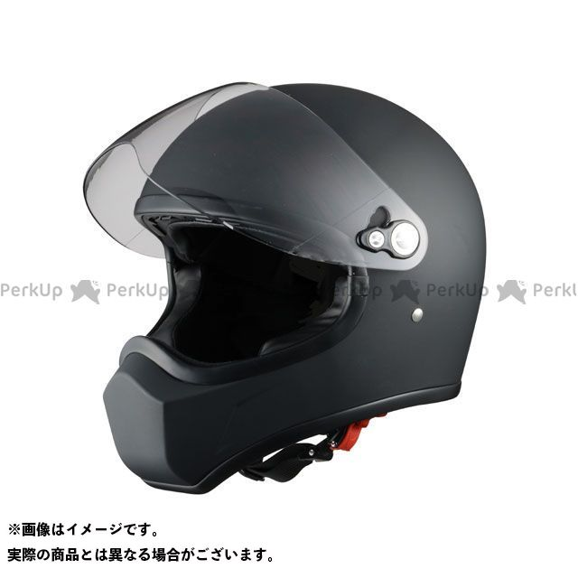 送料無料 Silex シレックス フルフェイスヘルメット ネオレトロヘルメット FUJIN マッドシャインブラック L/58-60cm未満