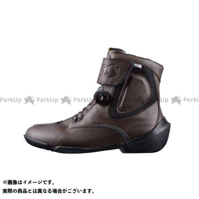 送料無料 elf shoes エルフシューズ ライディングブーツ EVO03 EVOLUZIONE 03(エヴォルツィオーネ03) ダークブラウン 23.0cm