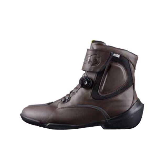 送料無料 elf shoes エルフシューズ ライディングブーツ EVO03 EVOLUZIONE 03(エヴォルツィオーネ03) ダークブラウン 24.0cm