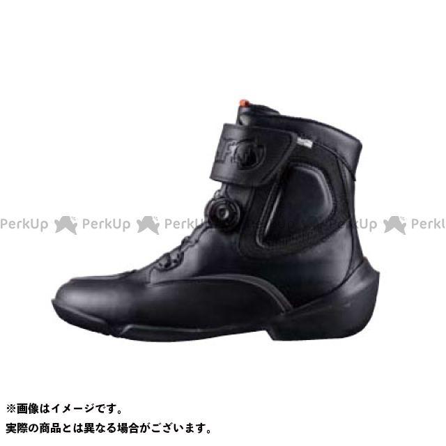 送料無料 elf shoes エルフシューズ ライディングブーツ EVO03 EVOLUZIONE 03(エヴォルツィオーネ03) ブラック 24.5cm
