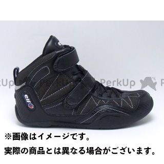 elf shoes EXA11(エクサ11) ブラック 25.0cm エルフシューズ