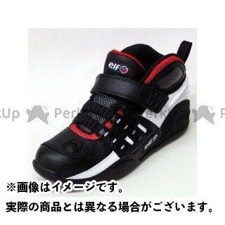 【エントリーで更にP5倍】elf shoes Synthese13(シンテーゼ13) カラー:ホワイト/ブラック サイズ:25.5cm メーカー在庫あり エルフシューズ