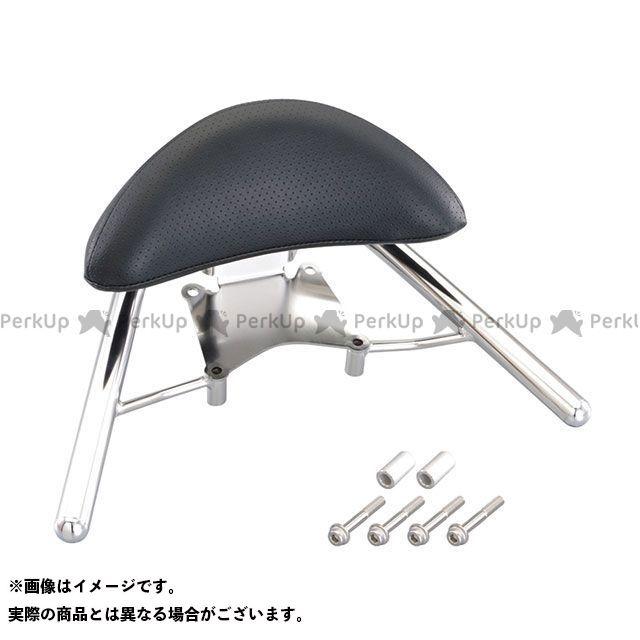 送料無料 キタコ ディオ110 タンデム用品 タンデムバー付バックレスト300 シルバー