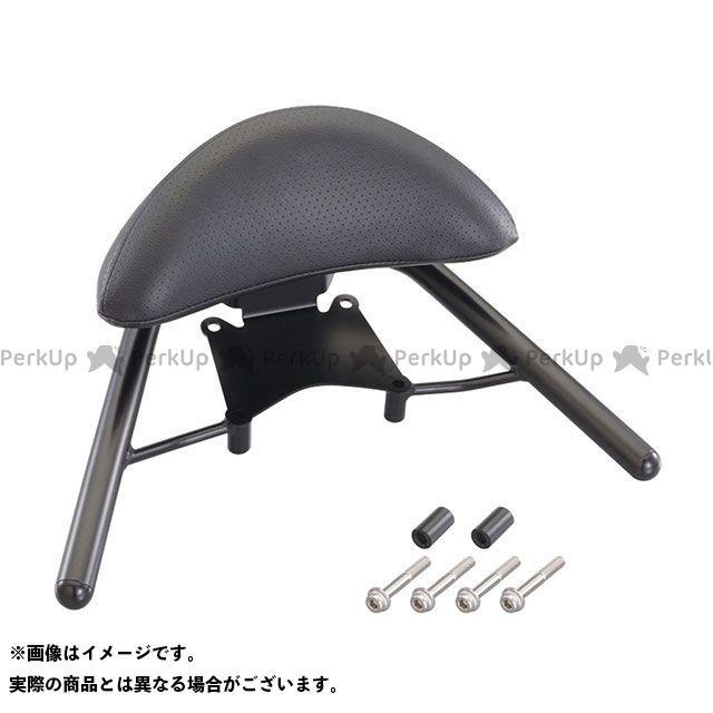 【エントリーで更にP5倍】キタコ ディオ110 タンデムバー付バックレスト300 カラー:ブラック KITACO
