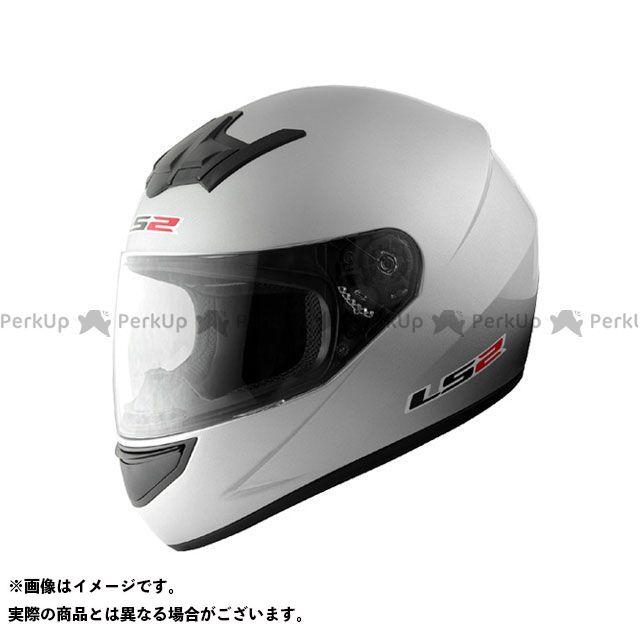 送料無料 LS2 HELMETS エルエスツー フルフェイスヘルメット LS2 BLAST(ブラスト) シルバー M/57-58cm