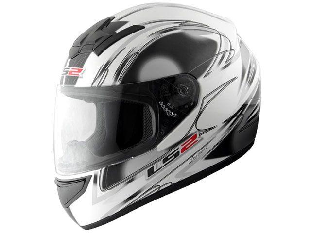 送料無料 LS2 HELMETS エルエスツー フルフェイスヘルメット LS2 BLAST(ブラスト) ダイアモンドホワイト L/59-60cm