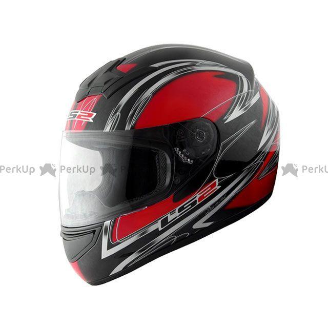 送料無料 LS2 HELMETS エルエスツー フルフェイスヘルメット LS2 BLAST(ブラスト) ダイアモンドレッド XL/61-62cm