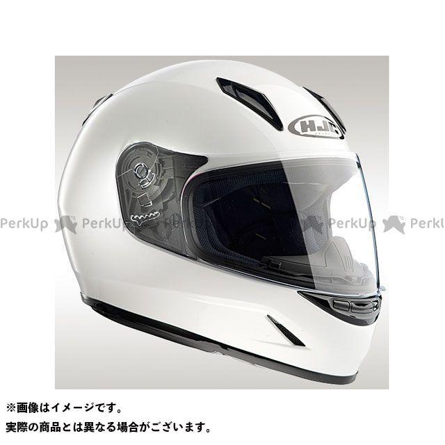 送料無料 HJC エイチジェイシー レディース・キッズヘルメット HJH057 CL-Y ソリッド ホワイト M/51-52cm