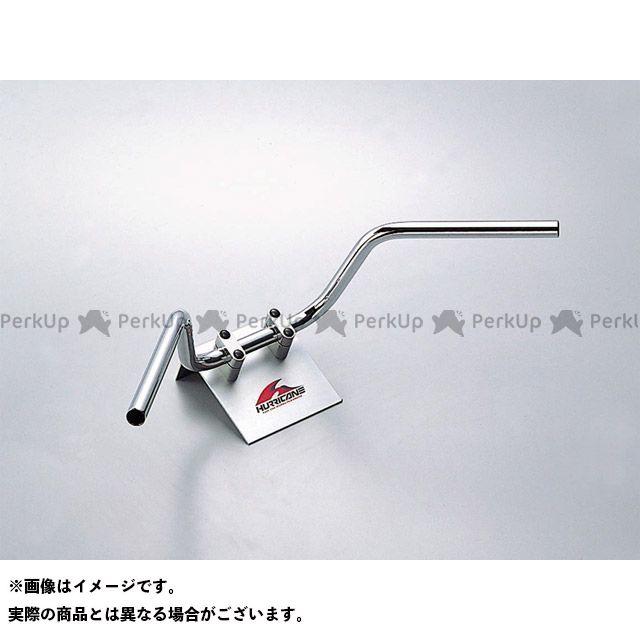 ハリケーン エイプ50 ナロー4型 ハンドルセット(クロームメッキ) HURRICANE