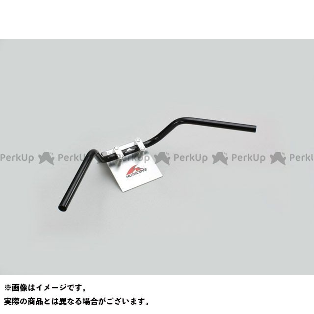 ハリケーン エイプ100 エイプ50 ナロー3型 ハンドルセット カラー:ブラック HURRICANE