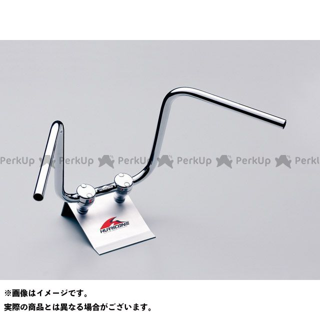 ハリケーン グラストラッカー グラストラッカービッグボーイ 300エイプハンガー3型 ハンドルセット(クロームメッキ) HURRICANE