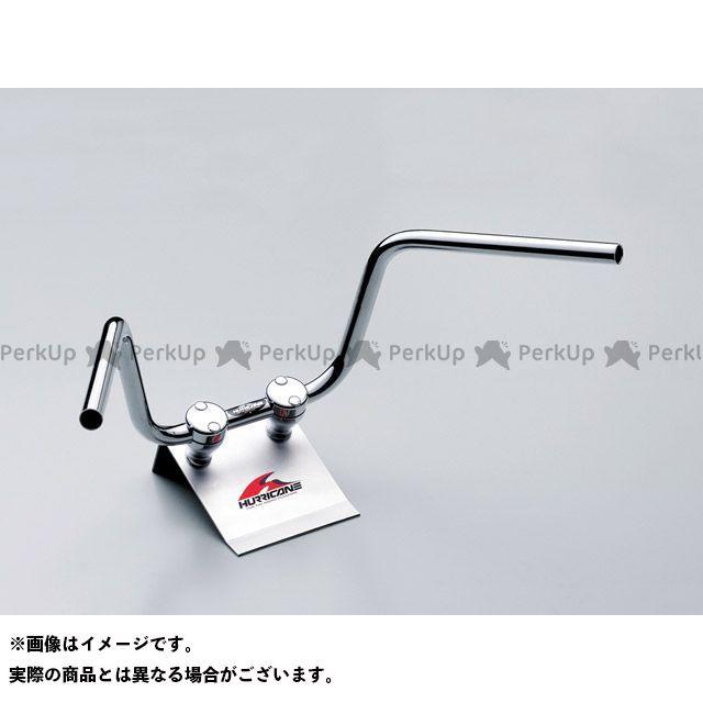 送料無料 ハリケーン ZRX400 ZRX400- ハンドル関連パーツ 200アップ3型プルバック ハンドルセット(クロームメッキ)