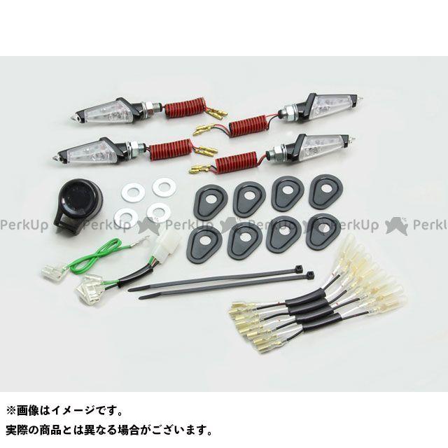 ハリケーン MT-09 LEDダガーウインカーキット カラー:ブラックボディ/クリアレンズ HURRICANE