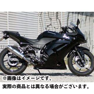 リアライズ ニンジャ250R Aria ステンレス スリップオン テールタイプ:TypeS(スラッシュエンド) Realize Racing