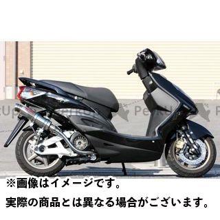 ケイツーテック シグナスX シグナスX GP-R 国内・台湾O2センサー無し STD ステンレスサイレンサー 3ピースタイプ