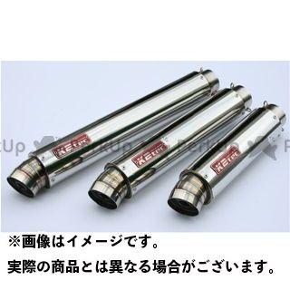 ケイツーテック 汎用 GPスタイル STDサイレンサー M1 60.5/P60(ステンレス/SUS304) 外径φ100、筒長320mm K2-tec