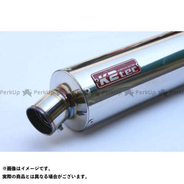 ケイツーテック 汎用 GPスタイル STDサイレンサー S5 60.5/P50(ステンレス/SUS304) バンド止めタイプ 外径:φ100 筒長:320mm K2-tec