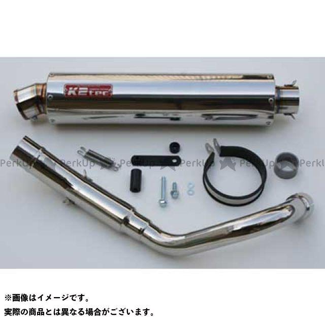 ケイツーテック ホーネット HORNET250 NITRO(ニトロ)スリップオンマフラー 出口形状:S6タイプ K2-tec