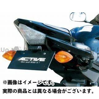 アクティブ YZF-R6 フェンダーレスキット(ブラック) LEDナンバー灯付き ACTIVE