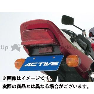 アクティブ ZRX1100 ZRX1200R フェンダーレスキット(ブラック) ACTIVE