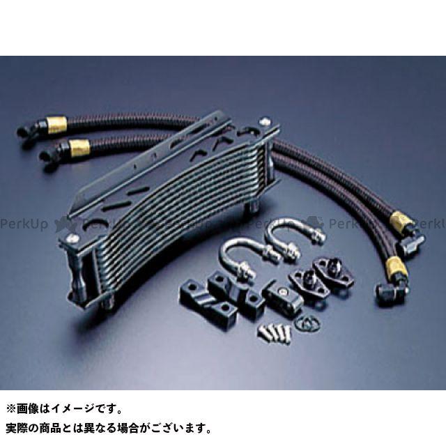 アクティブ CB1100F CB900F オイルクーラー オイルクーラーキット ラウンド #6 9-10R ブラック