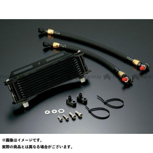 アクティブ CB750 オイルクーラー オイルクーラーキット ラウンド #6 9-10R ブラック