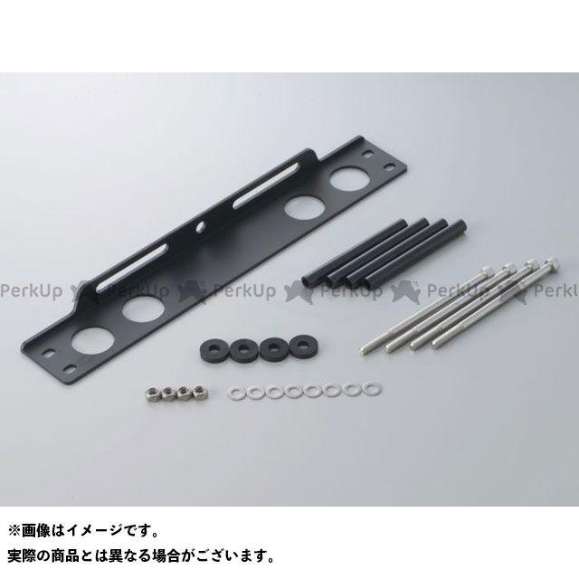送料無料 アクティブ 汎用 オイルクーラー ストレートコア用 汎用ステーセット ブラック 9インチ7段