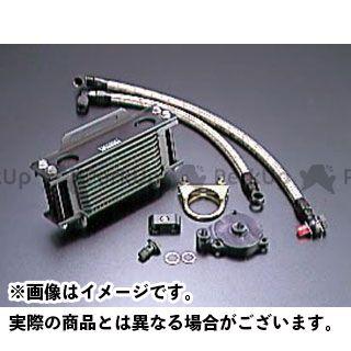 アクティブ GB250クラブマン オイルクーラー オイルクーラーキット ストレート #6 4.5-10R ブラック