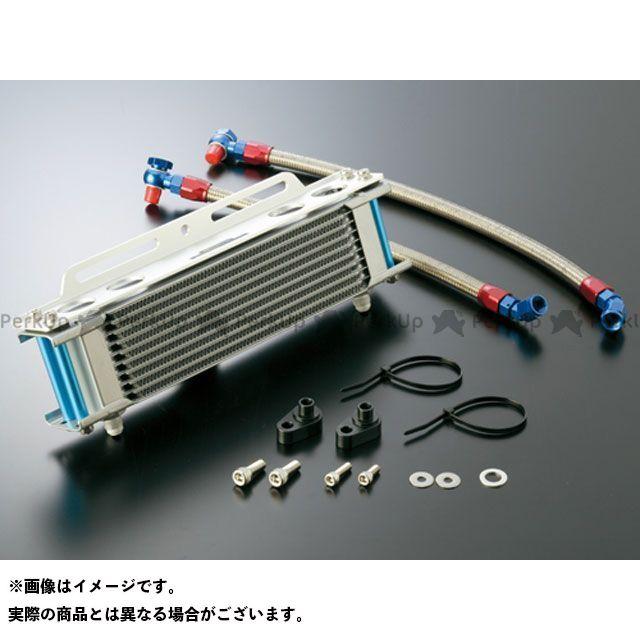 アクティブ CB750 オイルクーラー オイルクーラーキット ストレート #6 9-10R シルバー