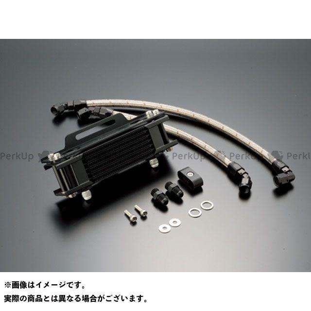 アクティブ SRX400(SRX-4) SRX600(SRX-6) オイルクーラー オイルクーラーキット ストレート #6 4.5-7R ブラック