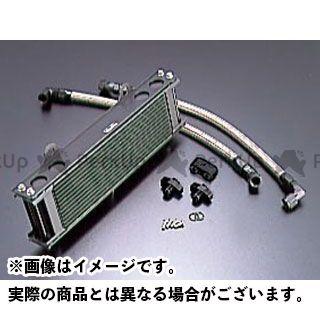 アクティブ XJR1200 XJR1300 オイルクーラー オイルクーラーキット ストレート #8 12-13R ブラック