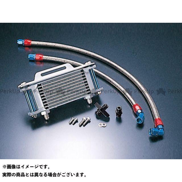 アクティブ SRX400(SRX-4) オイルクーラー オイルクーラーキット ストレート #6 4.5-7R シルバー