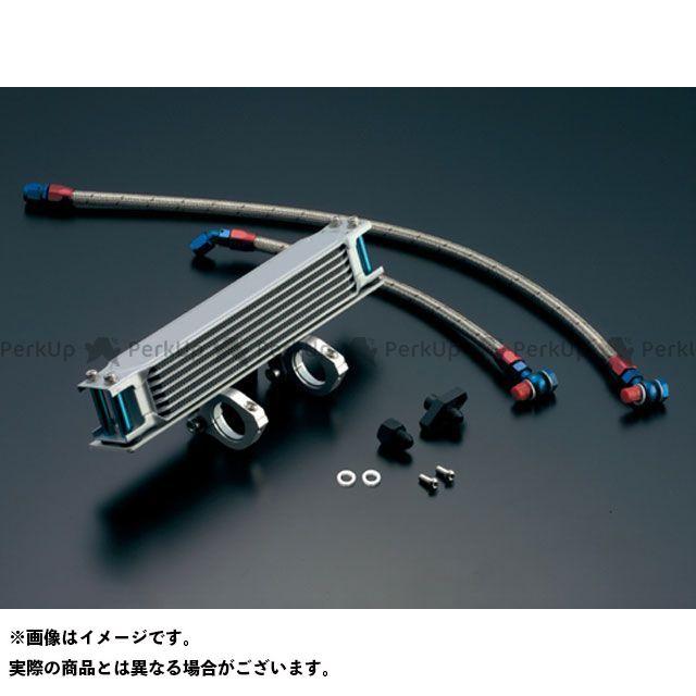 アクティブ SR400 SR500 オイルクーラー オイルクーラーキット(縦)ストレート #6 9-7R シルバー