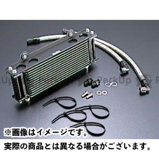 アクティブ GSX1100Sカタナ オイルクーラー オイルクーラーキット ストレート #8 9-10R ブラック