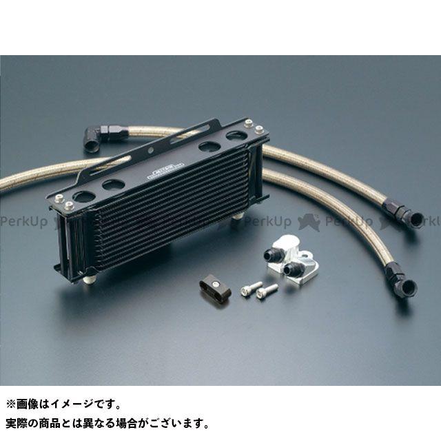 アクティブ GPZ1100 Z1100GP オイルクーラー オイルクーラーキット(サイド廻し)ストレート #8 9-10R ブラック