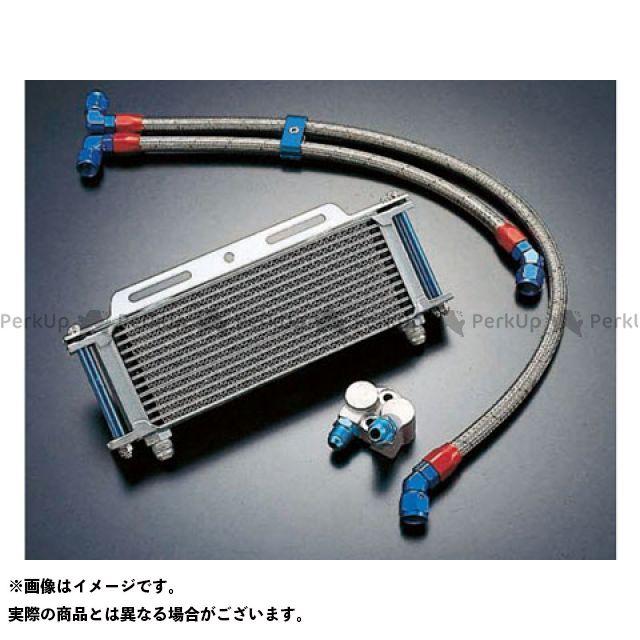 アクティブ GPZ1100 Z1100GP オイルクーラー オイルクーラーキット(サイド廻し)ストレート #8 9-13R シルバー
