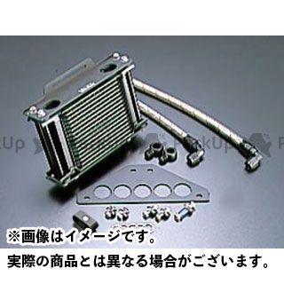 アクティブ GPZ750R ニンジャ900 オイルクーラー オイルクーラーキット ストレート #6 4.5-16R ブラック