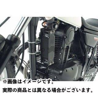 アクティブ 250TR アクティブ セトラブ・アールズストレートオイルクーラーキット用ステーセット 縦付け※補修用 ブラック ACTIVE