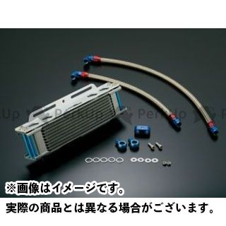 【エントリーで更にP5倍】アクティブ GPZ750R ニンジャ900 オイルクーラーキット ストレート #6 9-10R カラー:シルバー ACTIVE