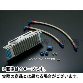アクティブ GPZ750R ニンジャ900 オイルクーラー オイルクーラーキット ストレート #6 9-13R シルバー