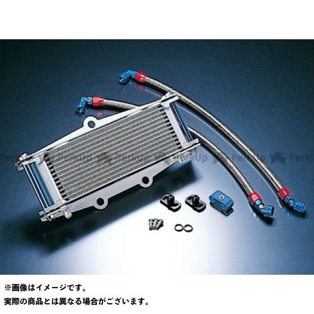 アクティブ ACTIVE オイルクーラー オイルクーラーキット ストレート #6 9-13R(サーモ対応キット) シルバー